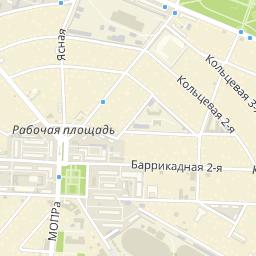 Карта Ростова-на-Дону: улицы, дома и организации