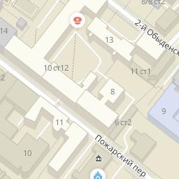 Курсовой магазин одежды Курсовой переулок Москва ГИС