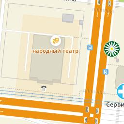 Карта Челябинской области с городами на спутниковой